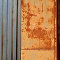 Rust And Corrugated by Anita Burgermeister