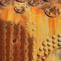 Rust And Rivets Horizontal by James Brunker