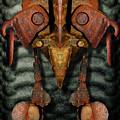 Rust Bone Totem by WB Johnston