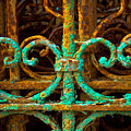 Rusted Gates by Craig Perry-Ollila