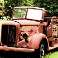 Rusted Mack Fire Engine by Tommy Anderson
