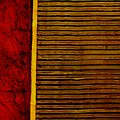 Rustic Abstract One by Michelle Calkins