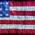 Rustic American Flag by Debra Martz