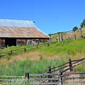 Rustic Barn by Linda Larson