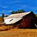 Rustic Barn Of Newcastle by Peggy Leyva Conley