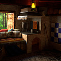 Rustic Cabin by Adam Simpson