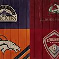 Rustic Denver Sports Teams by Dan Sproul