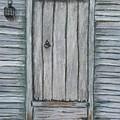 Rustic Door by Marina Garrison