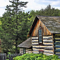Rustic Farmhouse At Old World Wisconsin by Christopher Arndt