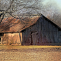 Rustic Midwest Barn by Theresa Campbell