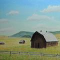 Rustic Montana Barn by Jayne Wilson
