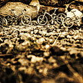 Rustic Mountain Bikes by Jorgo Photography - Wall Art Gallery