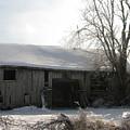 Rustic Old Barn by Martie DAndrea