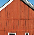 Rustic Red Barn by John Greim
