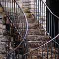 Rustic Staircase by Norman Jones