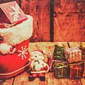 Rustic Xmas Decorations by Jorgo Photography - Wall Art Gallery
