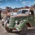 Rusting In The Desert by Kristia Adams