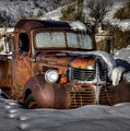 Rusting In Winter by Michael Morse