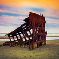 Rusting Shipwreck by Garry Gay