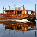 Rusty Barge by Anthony Jones