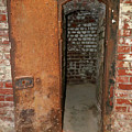 Rusty Door At Ohio Prison by Steve Gass