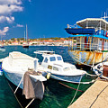 Rusty Fishing Boat In Sali Harbor by Brch Photography