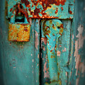 Rusty Lock by Perry Webster