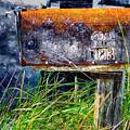 Rusty Mailbox by Rick Mosher