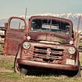 Rusty Old Dodge by Ely Arsha
