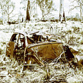 Rusty Old Holden Car Wreck  by Jorgo Photography - Wall Art Gallery