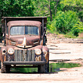 Rusty Old Truck by Donna Young
