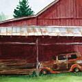 Rusty Ole Car by Suzanne Krueger