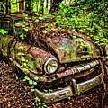 Rusty Plymouth by Debra and Dave Vanderlaan