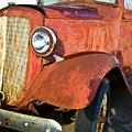 Rusty Red Chevrolet Pickup Truck 1934 by Douglas Barnett
