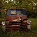 Rusty Red Chevy by Toni Hopper