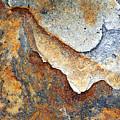 Rusty Rock Colours by Mark Sunderland