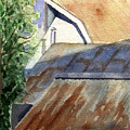 Rusty Roofs by Jane Croteau