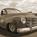 Rusty Studebaker In Sepia by Gill Billington