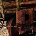 Rusty Train Back by Sven Brogren
