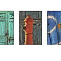 Rusty Triptych by Julian Regan