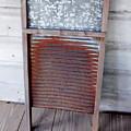 Rusty Washboard by D Hackett