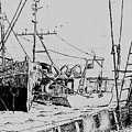 Rv Chain And Uscgss Whiting  by Vic Delnore