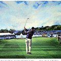 Ryan Fox At The Tayto Northern Ireland Open 2016 by Mark Robinson