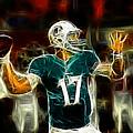 Ryan Tannehill - Miami Dolphin Quarterback by Paul Ward