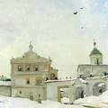Ryazan Kremlin In Winter by Denis Chernov