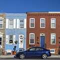 S Baltimore Row Homes - Wide by Brian Wallace
