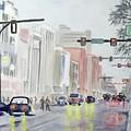 S. Main Street In Ann Arbor Michigan by Yoshiko Mishina