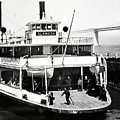 S. P. Ferry Alameda At San Francisco Circa 1940 by California Views Archives Mr Pat Hathaway Archives
