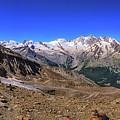 Saas Valley Panorama by James Billings