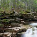 Sabbaday Falls - Kancamagus Highway, New Hampshire by Erin Paul Donovan